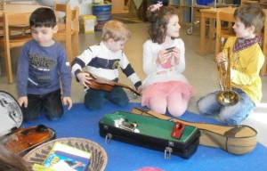 Musik-Workshops Kindergarten