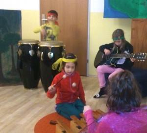 Musik-Workshops Volksschulalter