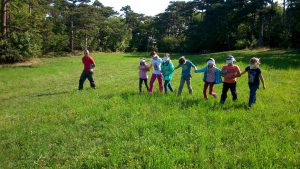 WOW Waldwoche: Erlebnispädagogische Spiele