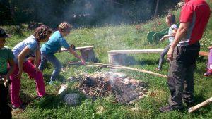 WOW Waldwoche: Lagerfeuer